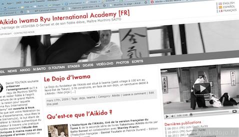 Nouveau site web de Iwama Ryu International Academy