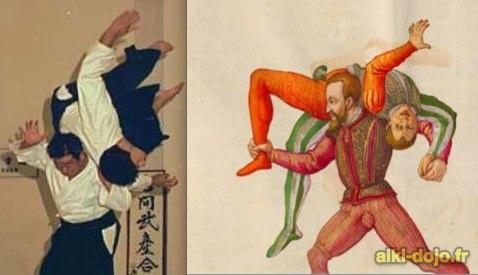Similitudes entre l'Aikido et les arts martiaux médiévaux occidentaux – AMHE