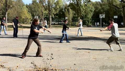 Cours Aikido à Valbonne
