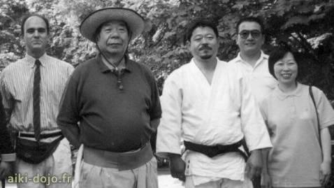 Morihiro and Hitohiro SAITO Sensei - Tristao Da Cunha - Nakamura