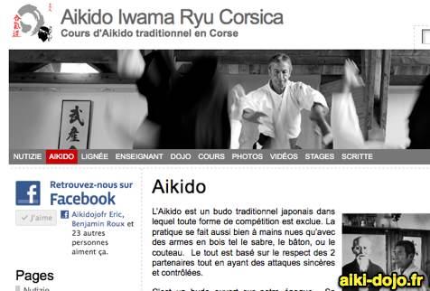 Dojo d'Aikido à Ajaccio – Corse