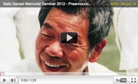 Video Aikido 10e anniversaire SAITO M.