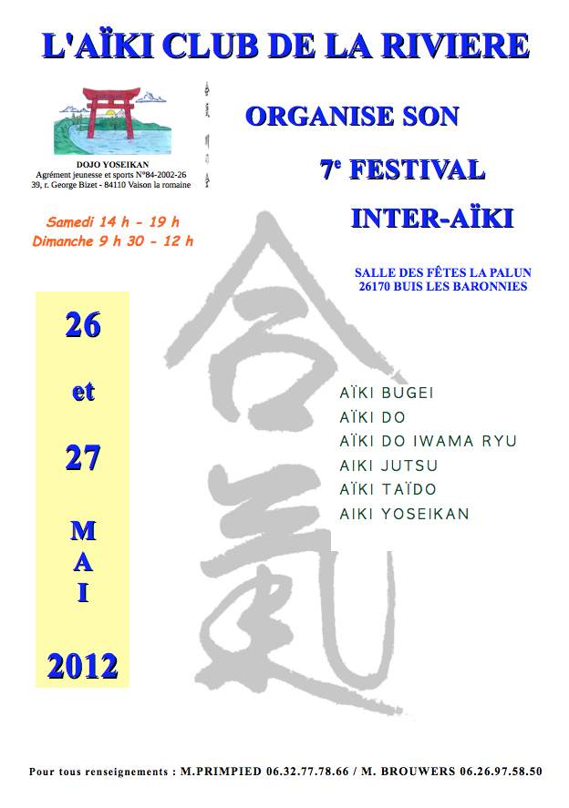 2012 Mai – Festival Inter Aiki