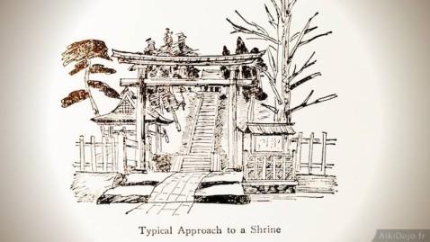 Entrée d'un temple shintô