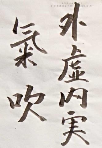 Aikido Seminar with Hitohira SAITO Sensei - FR-Rennes 2014