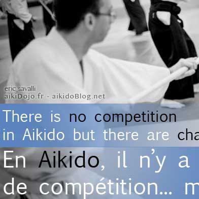 Aikido.. un art sans compétition