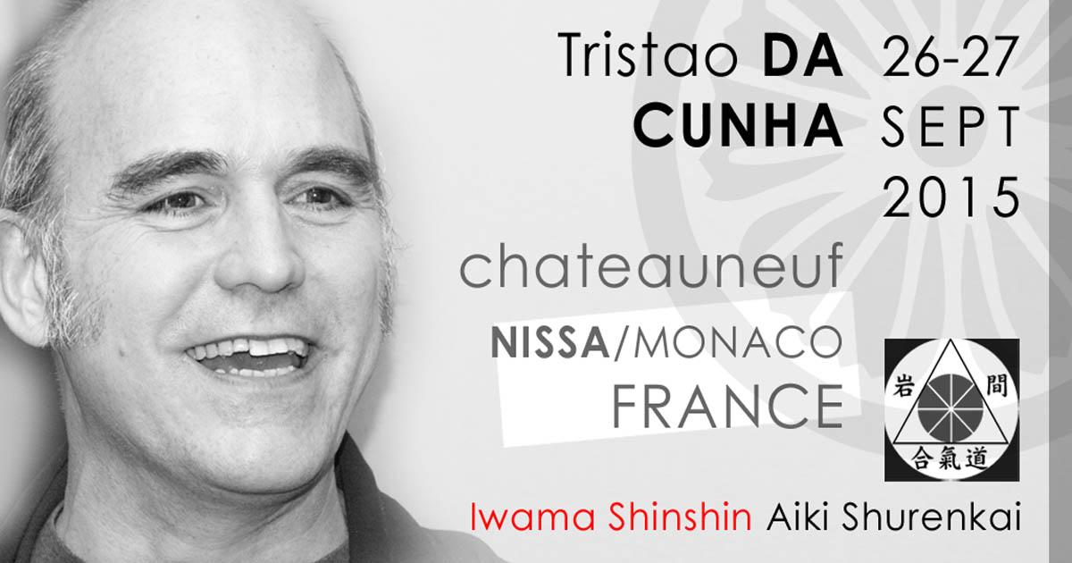 Stage Tristao Da Cunha Sensei – Nice France 09/2015