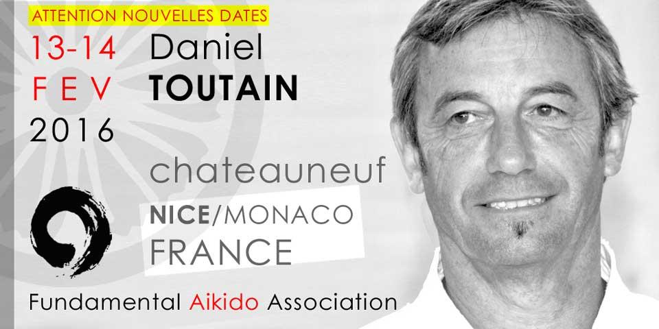 Stage Daniel Toutain Sensei – Nice France 02/2016