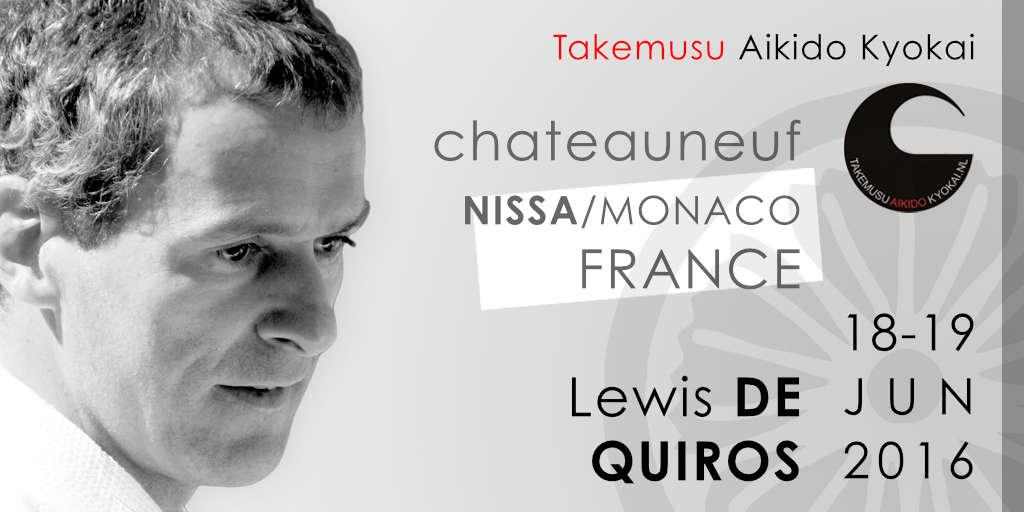 Lewis De QUIROS Sensei: Aikido Seminar in France