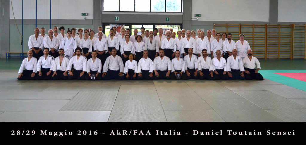 2016-05 Seminar with Daniel Toutain Sensei in Italy
