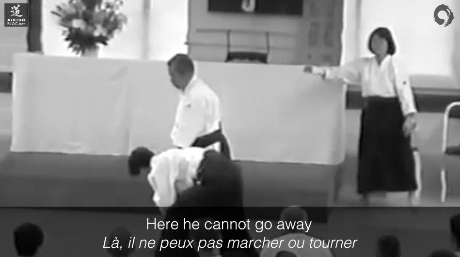 SAITO Sensei - uke: Lewis de Quiros - Rennes 1998