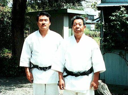 Saito Sensei et Teruo Tsuihiji