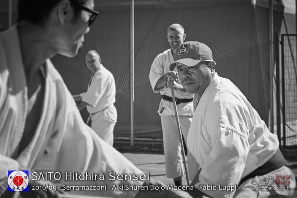 Seminar with SAITO Hitohira Sensei - Aiki Shuren Dojo Modena - Fabio Luppi