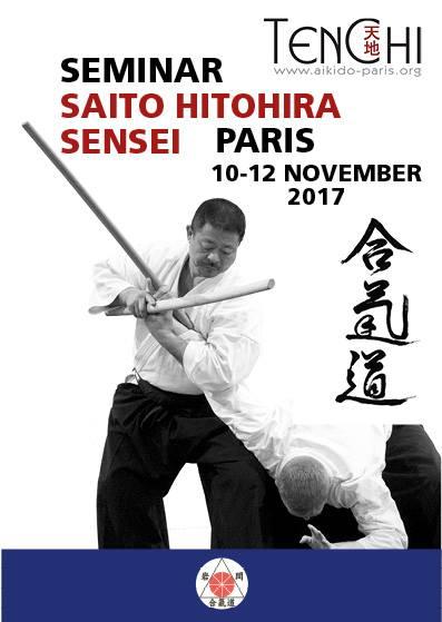 SAITO Sensei - Paris 2017