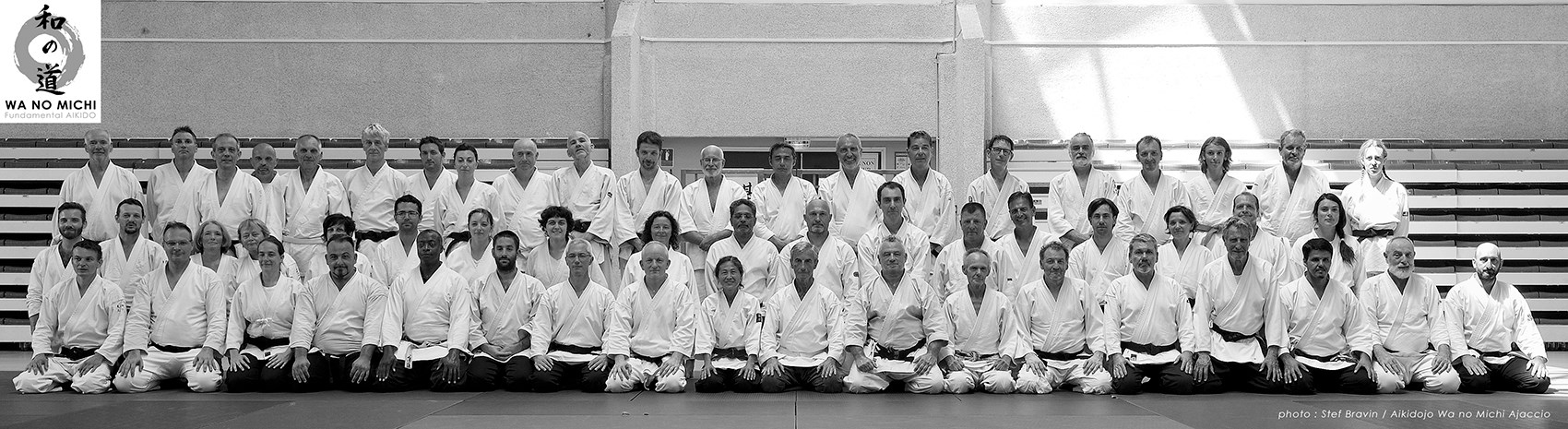 Summer camp 08/2018 - 50 years of aikido - Daniel Toutain