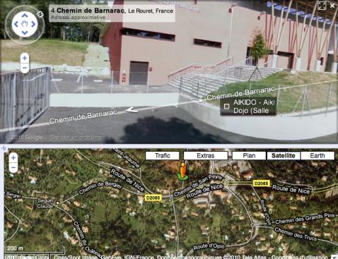 Salle du Bois-de-Saint-Jeaume Gymnase Aikido