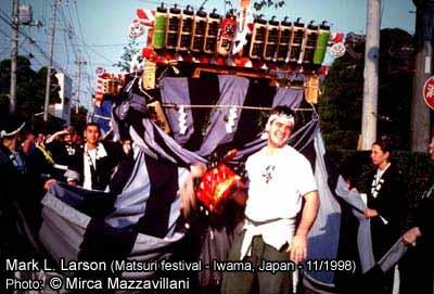 Marc Larson au Japon