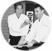 SAITO Sensei - Maître d'AIKIDO et Daniel TOUTAIN